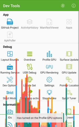 Dev Tools(Android Developer Tools) 3.0.0 Screen 3
