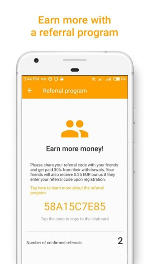 Money SMS   Make Money Online 1.0.3-demo Screen 3