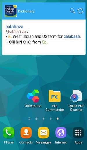 Concise Oxford English & Thes 8.0.251 Screen 6