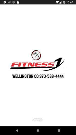 Fitness1 Clubs 4.3.3 Screen 2