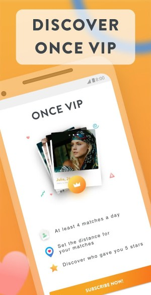 Once - Quality dating for singles 2.85 Screen 2