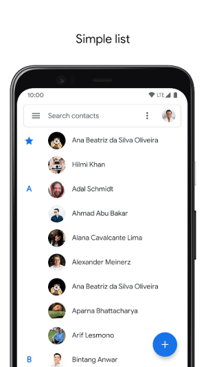 Contacts 3.20.1.301393922 Screen 2