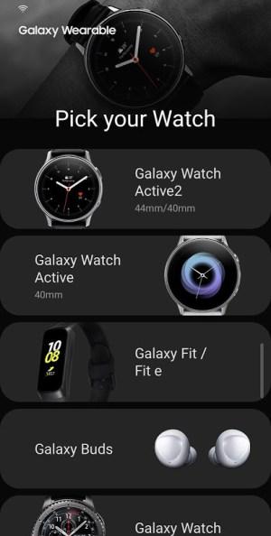 Galaxy Wearable (Samsung Gear) 2.2.28.19120361 Screen 4