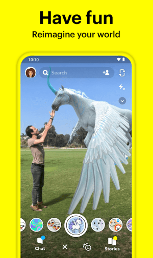 Snapchat 10.87.0.57 Beta Screen 1
