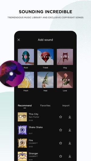 CapCut 3.2.0 Screen 4