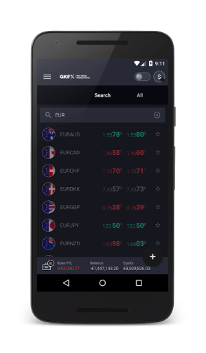 GKFX SIRIX Mobile 1.14.24.00000 Screen 3