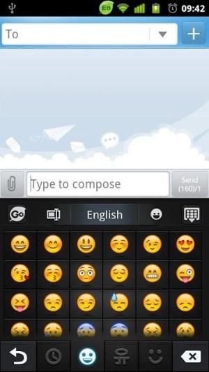 GO Keyboard - Emoji, Emoticons 2.20 Screen 3