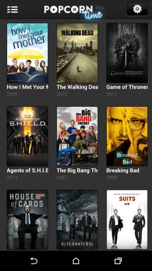 Popcorn Time 2.8.0.2 Screen 4