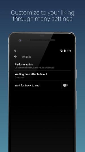 Sleep Timer (Turn music off) 2.5.1 Screen 3