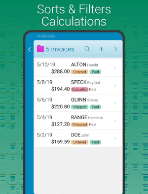 Binders | Database 3.767 Screen 1