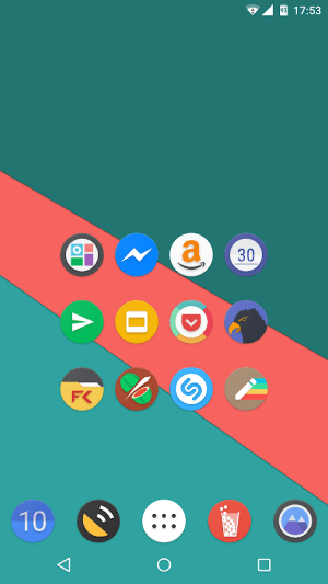 Android Kiwi UI Icon Pack Screen 4