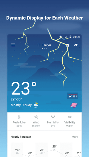Android Weather Forecast - World Weather Accurate Radar Screen 5