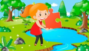 Android Big puzzles for children Screen 5