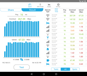 Speedcheck 5.1.5.3 Screen 7