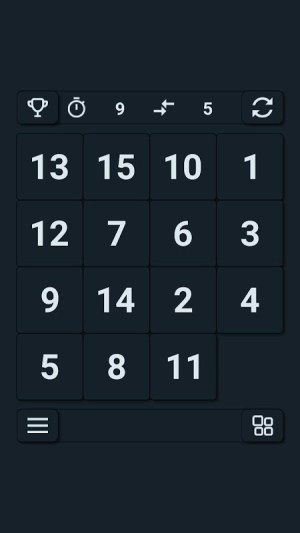 15 puzzle 2.1 Screen 14