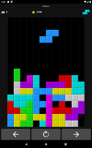 Android Brick Game Screen 19