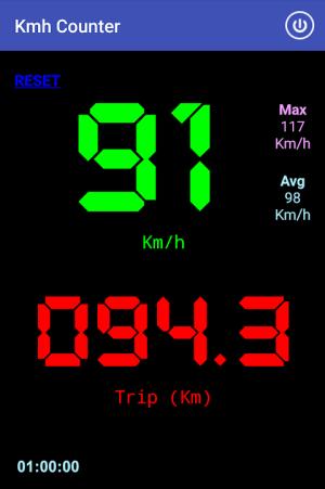 Kmh Counter (Speedometer) 12.16 Screen 1
