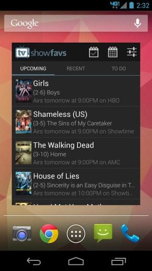TV Show Favs 4.0.0 Screen 4