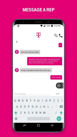 T-Mobile 6.7.0.3 Screen 1