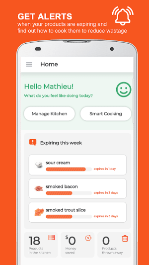 KitchenPal: For Smarter Cooking & Grocery Shopping 4.4.2 Screen 2