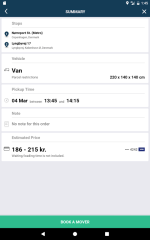 Mover Transport 4.7.1 Screen 13