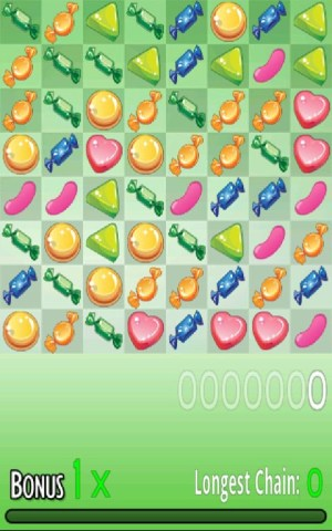 Android Candy Match Screen 1