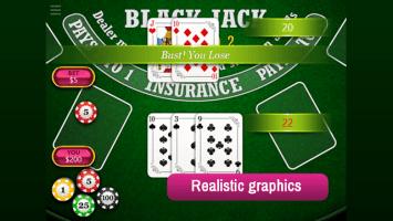BlackJack Vegas 21 Screen