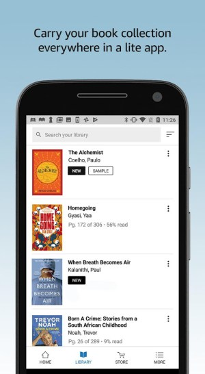 Android Amazon Kindle Lite – Read millions of eBooks Screen 4