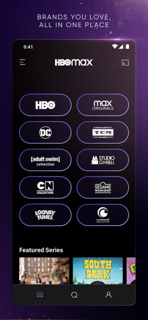 HBO Max: Stream and Watch TV, Movies, and More 50.30.0.252 Screen 3