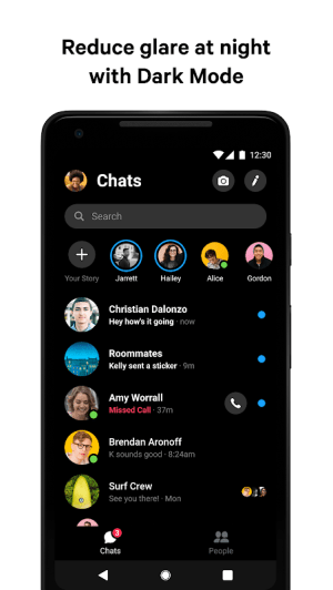 Messenger – Text and Video Chat for Free 252.0.0.10.119 Screen 1
