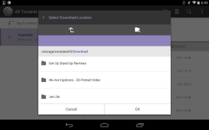 Android BitTorrent® Pro - Official Torrent Download App Screen 5
