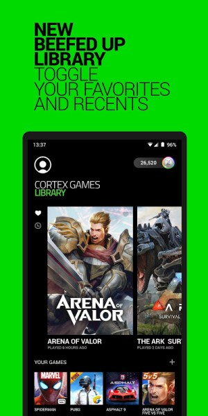 Razer Cortex Games 5.2.702 Screen 4
