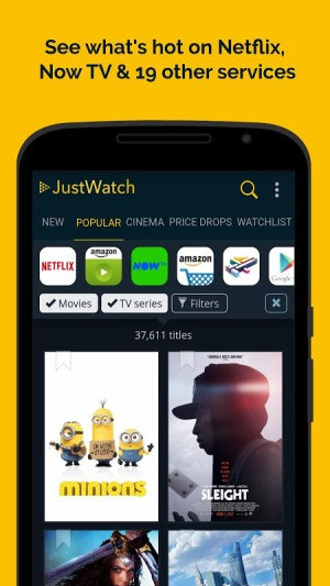 JustWatch - Search Engine for Streaming and Cinema 2.5.13 Screen 3