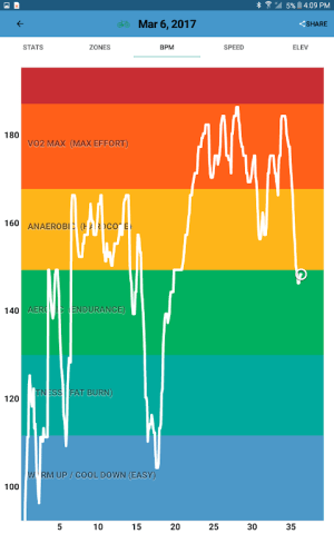 iRunner Run Tracking & Heart Rate Training 4.32 Screen 11