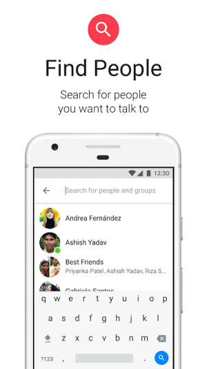 Messenger Lite 75.0.1.21.471 Screen 5