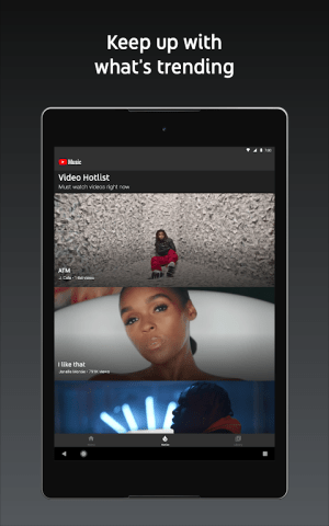 Android YouTube Music - stream music and play videos Screen 4