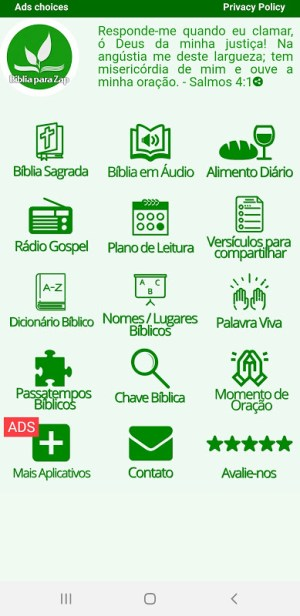 Bíblia para Zap 27.0 Screen 15