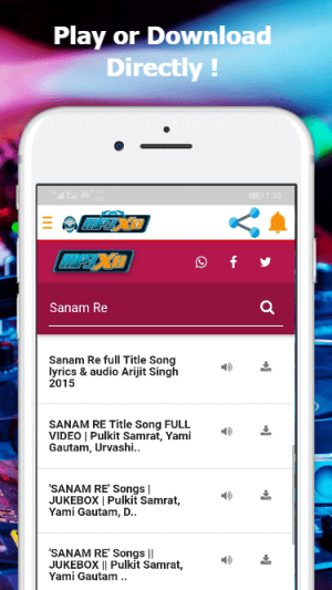 Android Mp3xd - Free Mp3 Downloader Screen 4