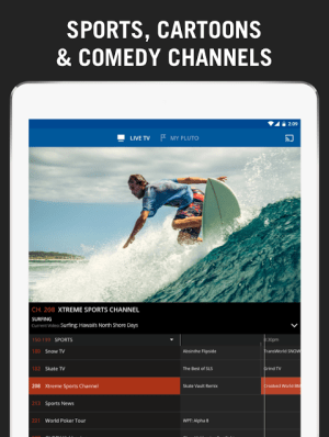 Pluto TV 3.0-leanback Screen 7