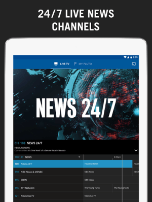 Pluto TV - It's Free TV 3.2.3-leanback Screen 6