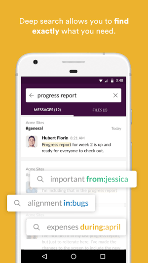 Slack 2.49.0 Screen 2