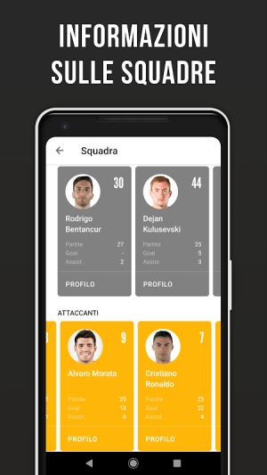 Bianconeri Live – Fan app di calcio non ufficiale 3.2.16 Screen 7