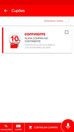 Continente Siga 1.0.100.20190416113745 Screen 1