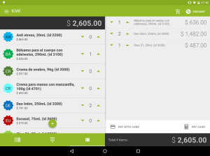 Android KiWi Screen 8