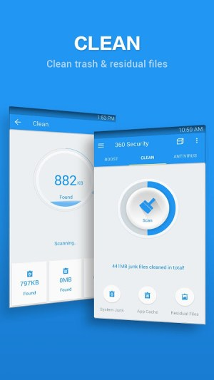 Android 360 Security - Antivirus Free Screen 1