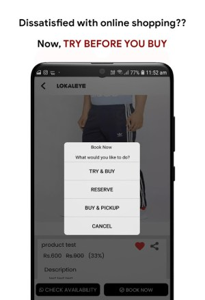 Android Lokaleye Screen 3