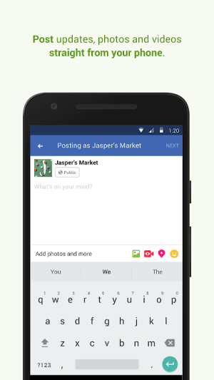 Facebook Pages Manager 227.0.0.16.117 Screen 3