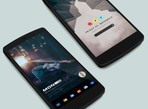 Andromeda for KWGT 1.05 Screen 4
