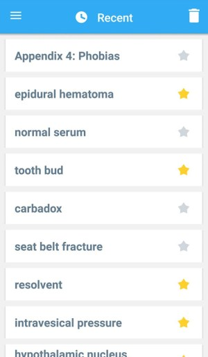 Android Dorland's Illustrated Medical Dictionary Screen 6