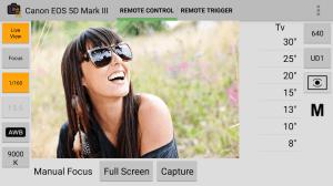 DSLR Remote Control - Camera 1.1.6 Screen 3